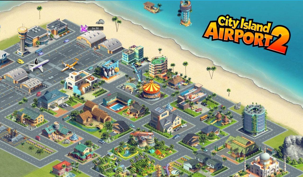 Игра на андроид city island